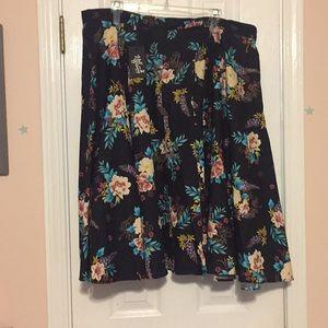 Floral Circle Skirt Never Worn!
